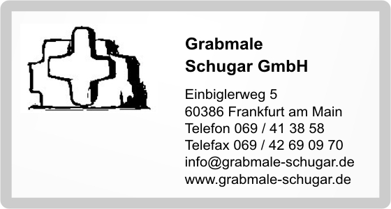 grabmale schugar gmbh in offenbach am main branche n grabmale natursteine steinmetzbetriebe. Black Bedroom Furniture Sets. Home Design Ideas