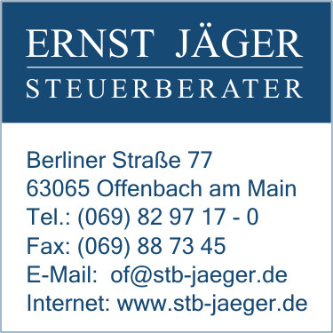 j ger steuerberater ernst in offenbach am main branche n steuerberatung bei adressbuch der. Black Bedroom Furniture Sets. Home Design Ideas